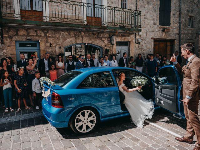 Le mariage de Julien et Alexandra à Génolhac, Gard 23