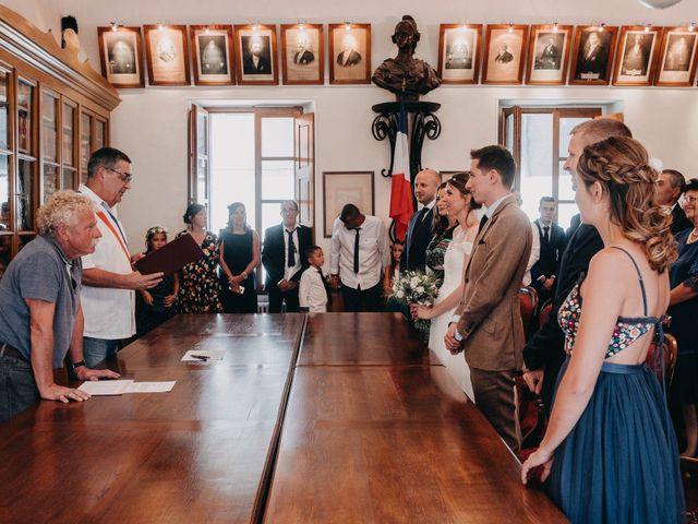 Le mariage de Julien et Alexandra à Génolhac, Gard 25