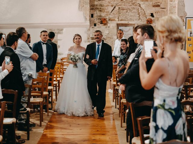 Le mariage de Julien et Alexandra à Génolhac, Gard 31