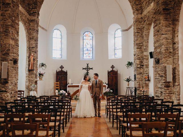 Le mariage de Julien et Alexandra à Génolhac, Gard 37