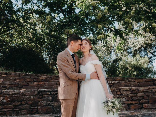 Le mariage de Julien et Alexandra à Génolhac, Gard 41