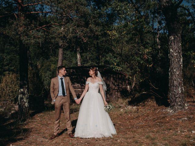 Le mariage de Julien et Alexandra à Génolhac, Gard 44