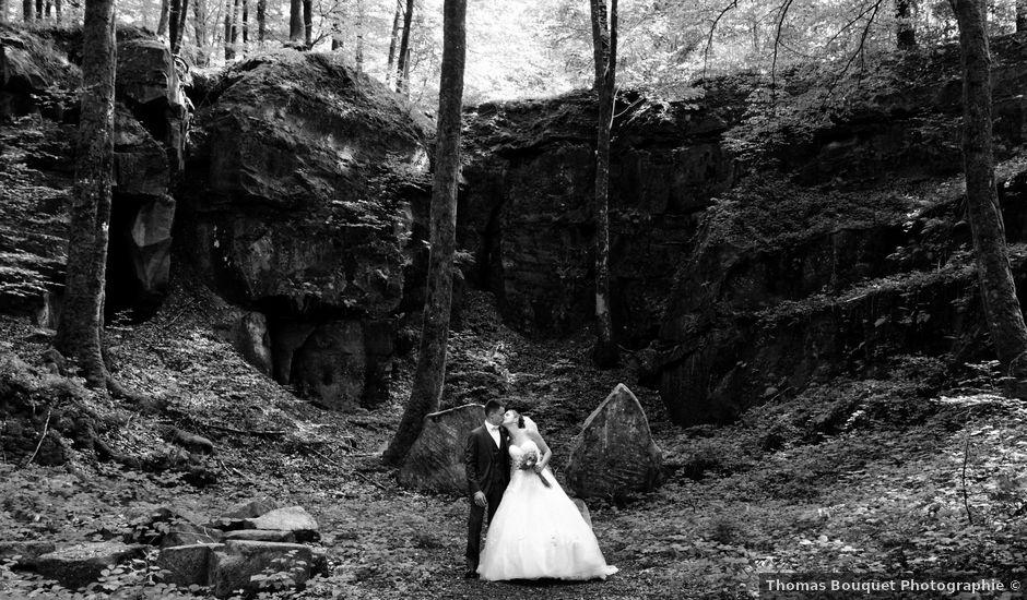 Le mariage de Quentin et Amélie à Saint-Sauveur, Haute-Saône