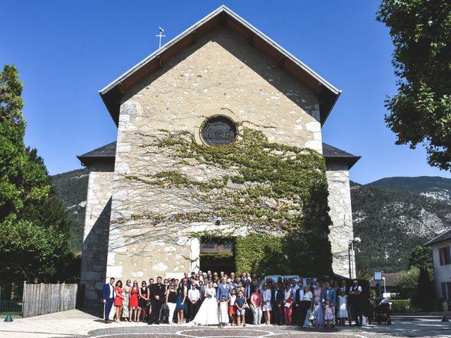 Le mariage de Sébastien et Léa à Arvillard, Savoie 20