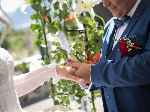 Le mariage de Romain et Charlotte à Curbans, Hautes-Alpes 19