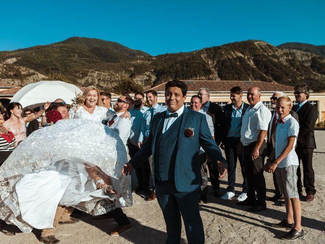 Le mariage de Romain et Charlotte à Curbans, Hautes-Alpes 25