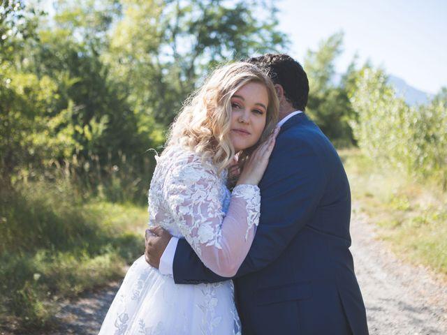 Le mariage de Romain et Charlotte à Curbans, Hautes-Alpes 42