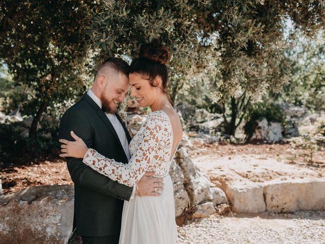 Le mariage de Robin et Morgane à Ruoms, Ardèche 27