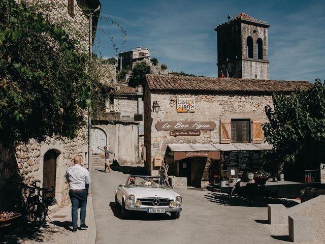 Le mariage de Robin et Morgane à Ruoms, Ardèche 33