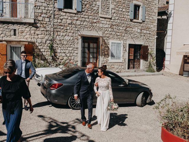 Le mariage de Robin et Morgane à Ruoms, Ardèche 34