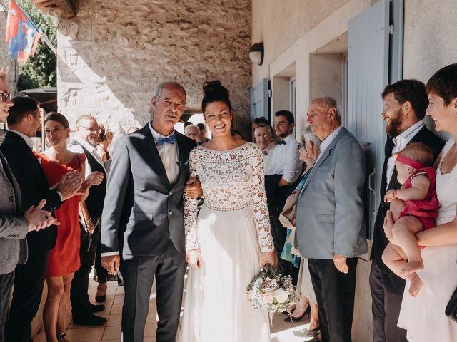 Le mariage de Robin et Morgane à Ruoms, Ardèche 35