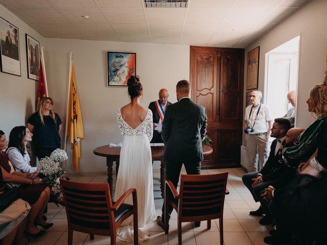 Le mariage de Robin et Morgane à Ruoms, Ardèche 37