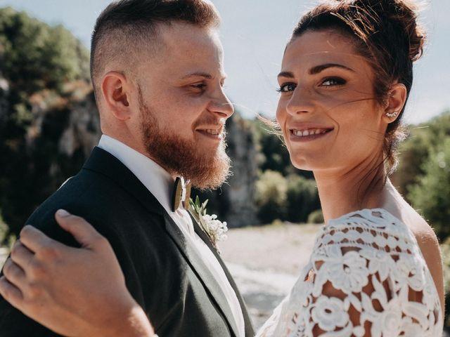 Le mariage de Robin et Morgane à Ruoms, Ardèche 45
