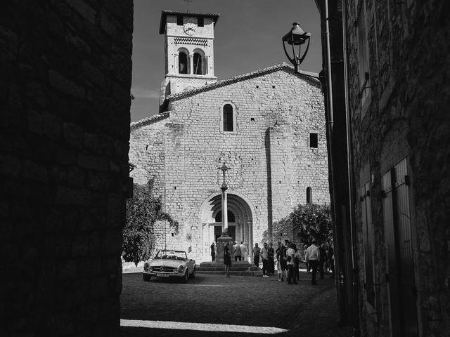 Le mariage de Robin et Morgane à Ruoms, Ardèche 46