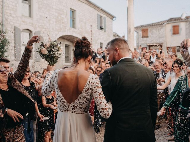 Le mariage de Robin et Morgane à Ruoms, Ardèche 54