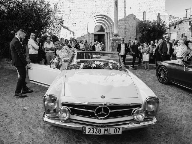 Le mariage de Robin et Morgane à Ruoms, Ardèche 64