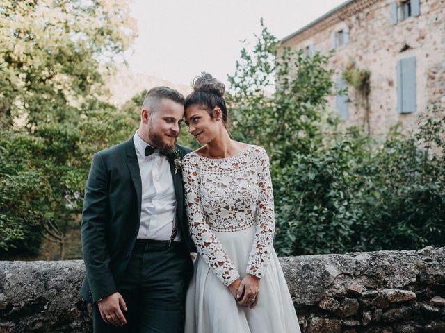 Le mariage de Robin et Morgane à Ruoms, Ardèche 67