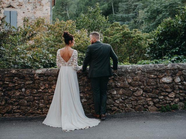 Le mariage de Robin et Morgane à Ruoms, Ardèche 68