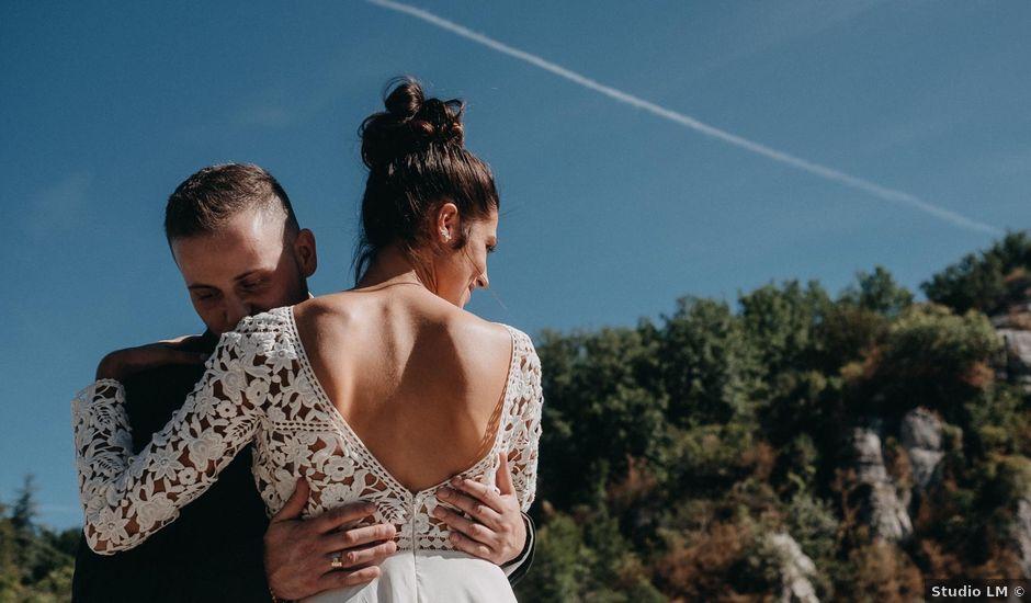 Le mariage de Robin et Morgane à Ruoms, Ardèche