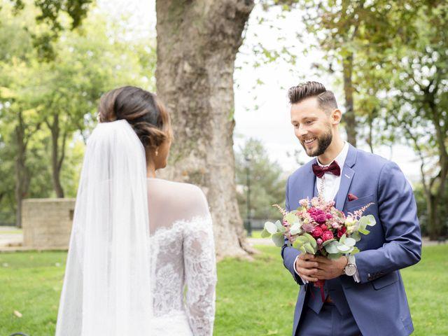 Le mariage de Jonathan et Jasmin à Puteaux, Hauts-de-Seine 12
