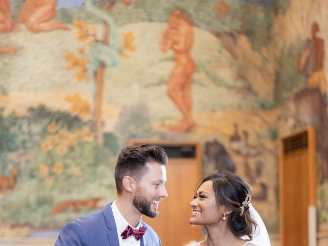 Le mariage de Jonathan et Jasmin à Puteaux, Hauts-de-Seine 15