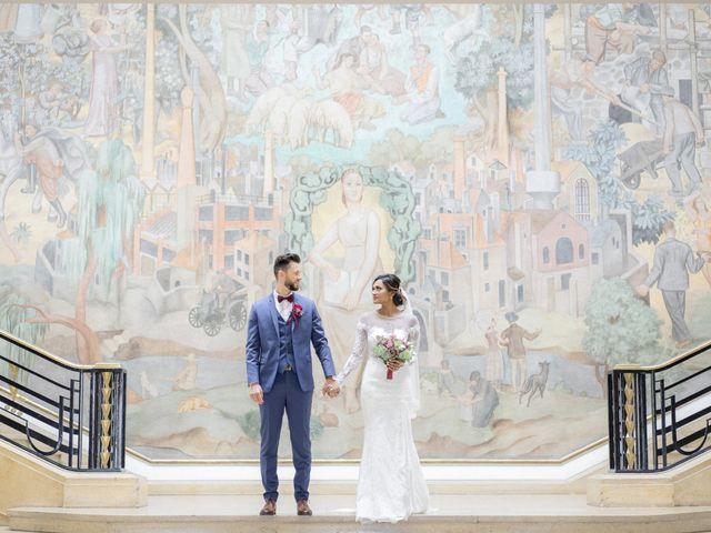 Le mariage de Jonathan et Jasmin à Puteaux, Hauts-de-Seine 1