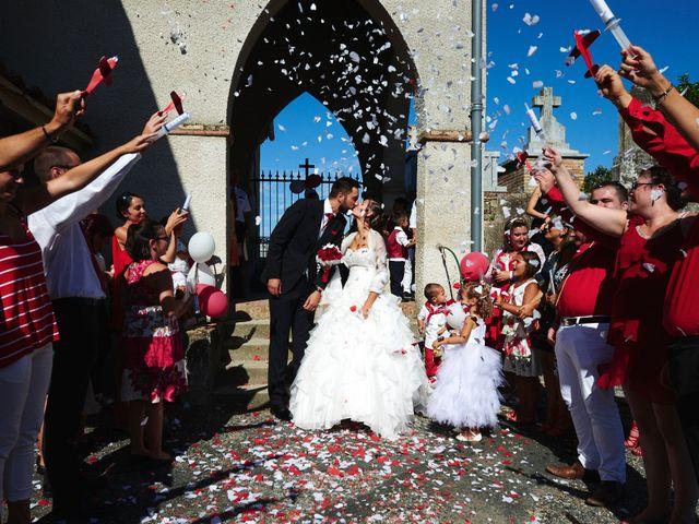 Le mariage de Yohann et Audrey à Fiac, Tarn 245