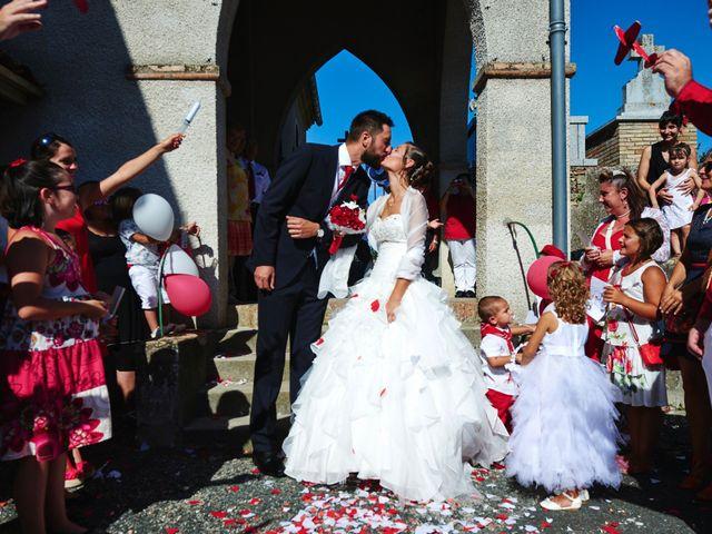Le mariage de Yohann et Audrey à Fiac, Tarn 249