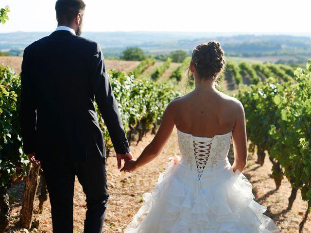 Le mariage de Yohann et Audrey à Fiac, Tarn 290