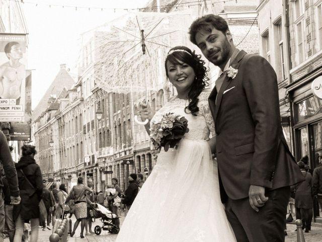 Le mariage de Lancelot et Amélie à Roncq, Nord 14