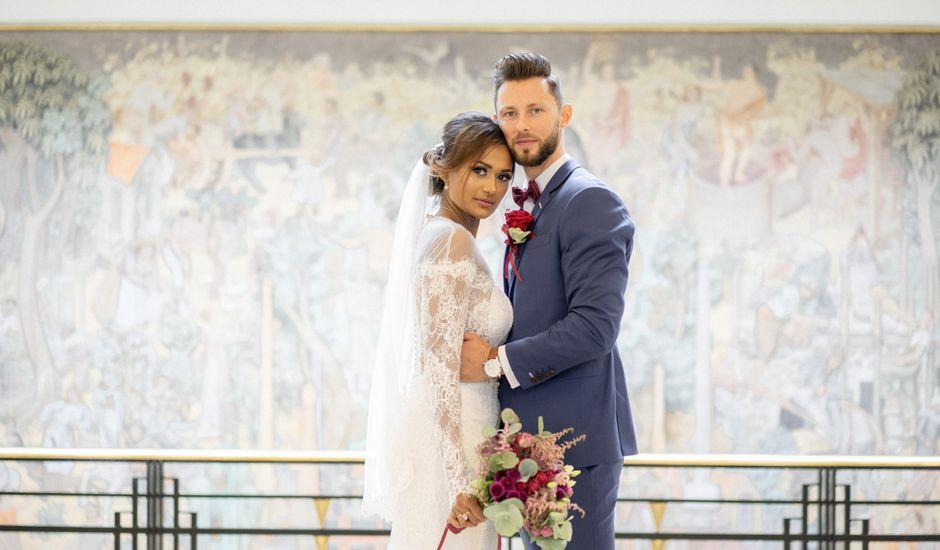 Le mariage de Jonathan et Jasmin à Puteaux, Hauts-de-Seine