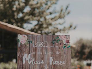 Le mariage de Mélissa et Pierre 1