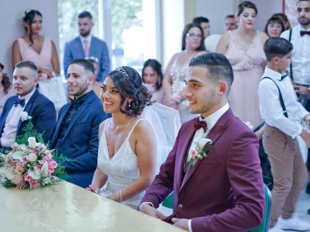 Le mariage de José et Camille à Gagnières, Gard 8