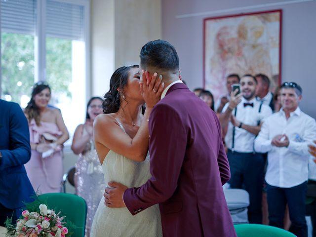 Le mariage de José et Camille à Gagnières, Gard 9