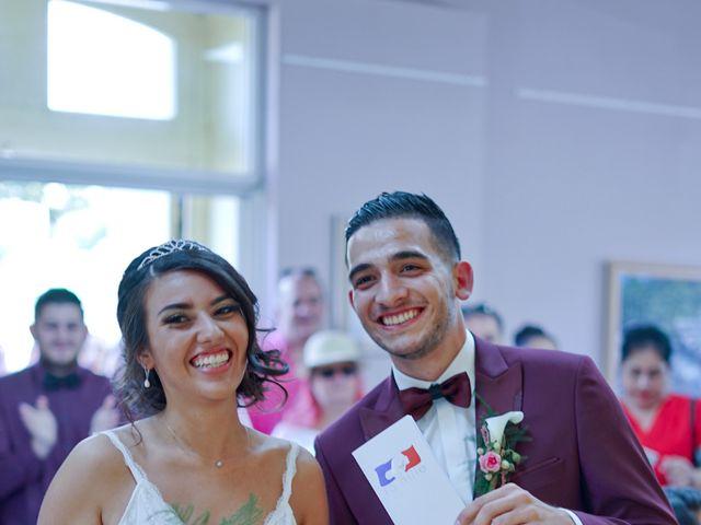 Le mariage de José et Camille à Gagnières, Gard 10