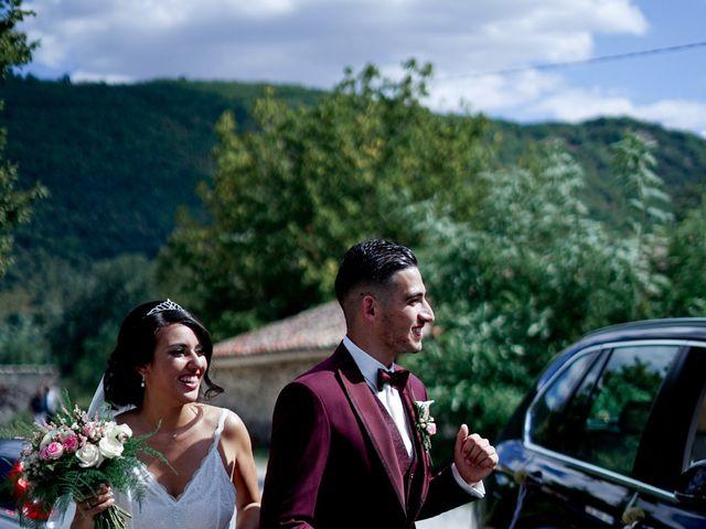 Le mariage de José et Camille à Gagnières, Gard 12