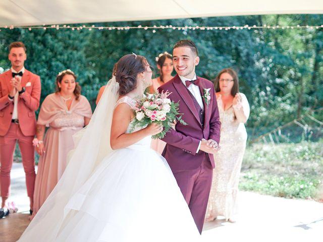 Le mariage de José et Camille à Gagnières, Gard 18