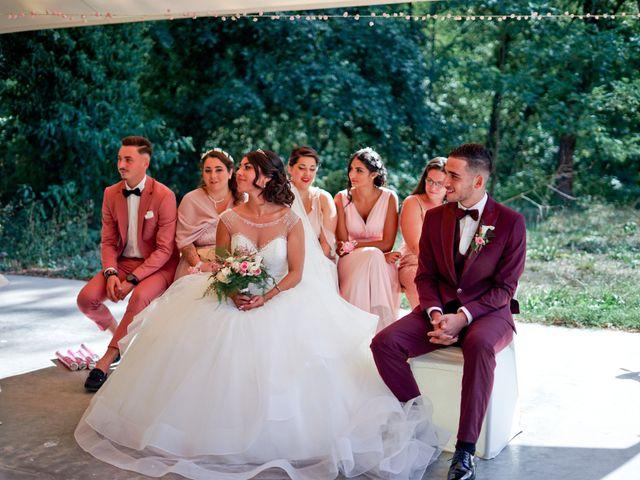 Le mariage de José et Camille à Gagnières, Gard 19
