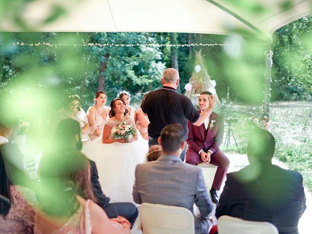 Le mariage de José et Camille à Gagnières, Gard 20