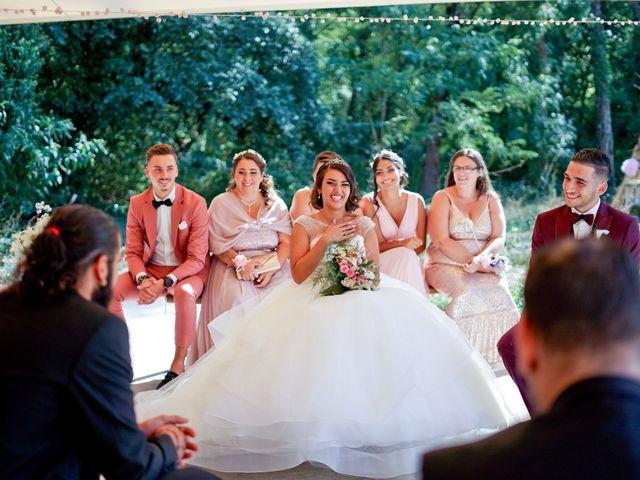 Le mariage de José et Camille à Gagnières, Gard 21