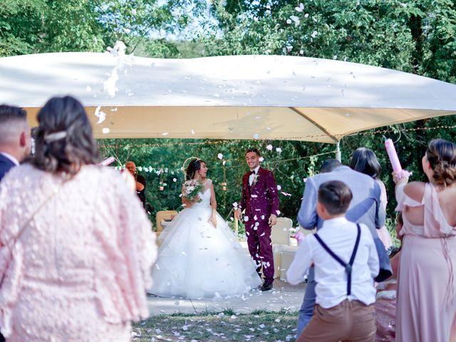 Le mariage de José et Camille à Gagnières, Gard 23