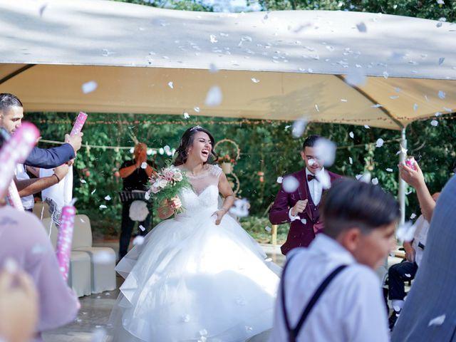 Le mariage de José et Camille à Gagnières, Gard 24