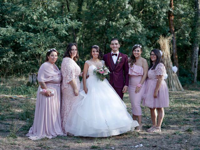Le mariage de José et Camille à Gagnières, Gard 25