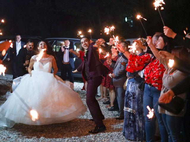 Le mariage de José et Camille à Gagnières, Gard 36