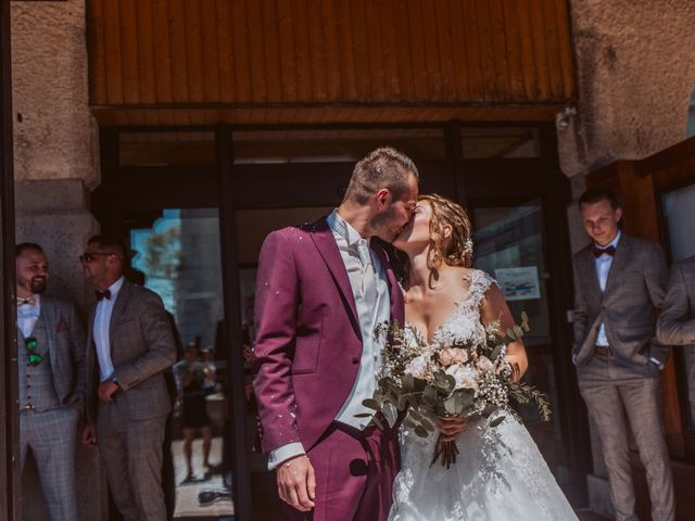 Le mariage de Gauthier et Laetitia à Saint-Sixt, Haute-Savoie 18