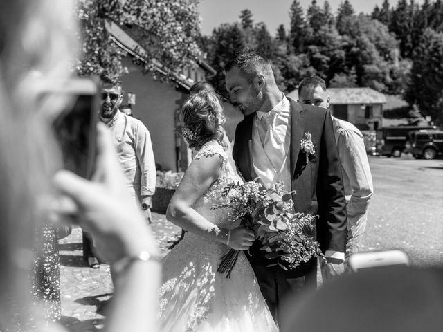 Le mariage de Gauthier et Laetitia à Saint-Sixt, Haute-Savoie 19