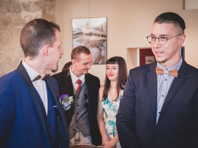Le mariage de Tristan et Marine à Gignac, Hérault 75