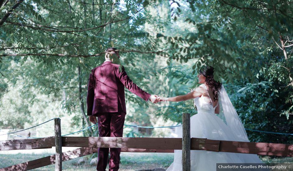 Le mariage de José et Camille à Gagnières, Gard