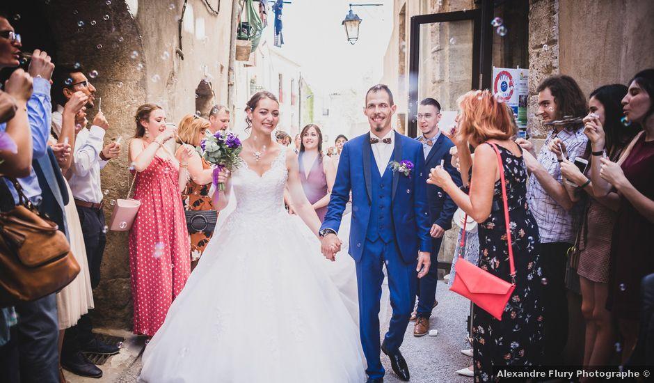 Le mariage de Tristan et Marine à Gignac, Hérault