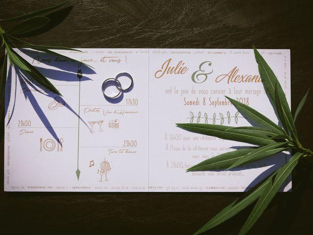 Le mariage de Alex et Julie à Saint-Gènes-de-Castillon, Gironde 23